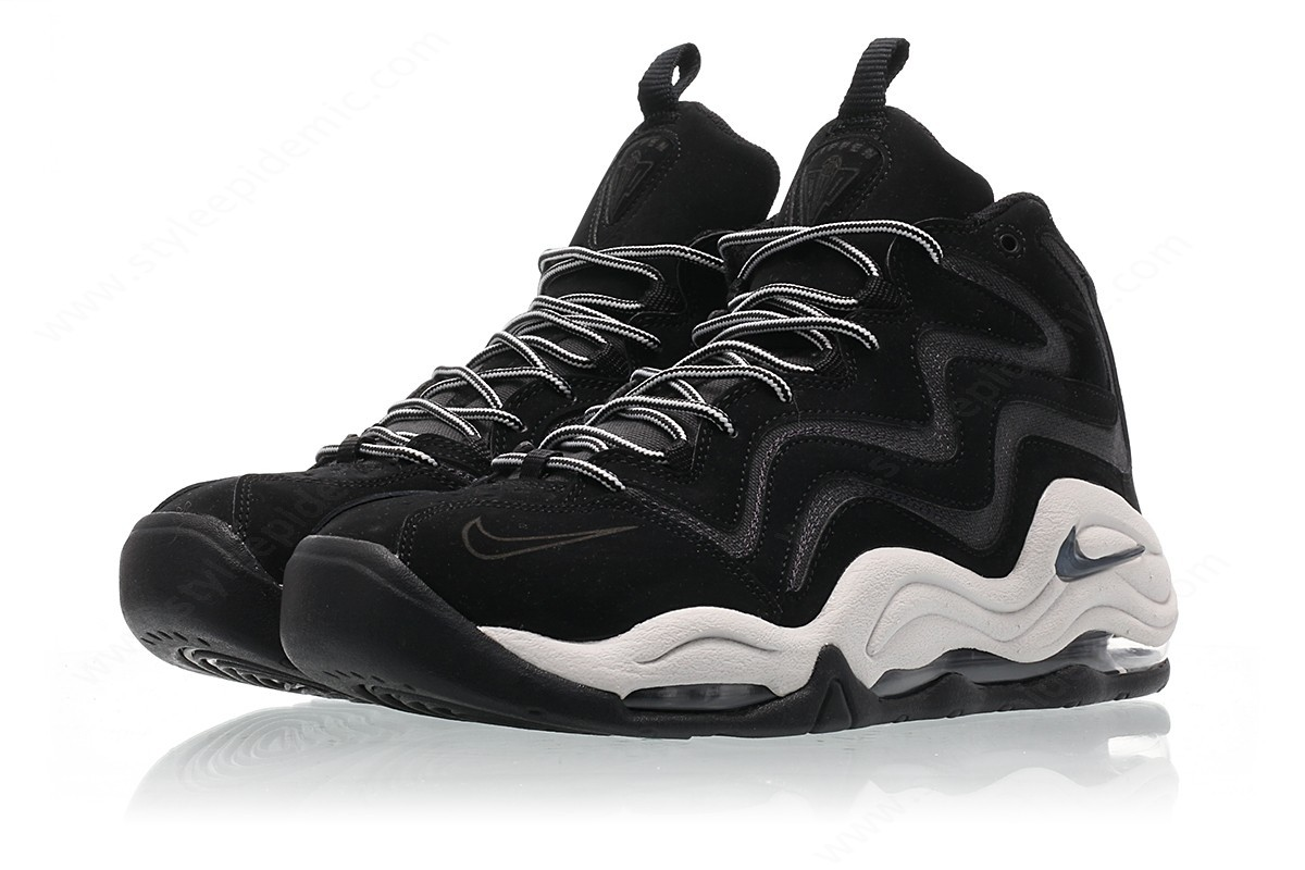 Mens Nike Air Pippen Black/anthracite-Vast Grey - -3