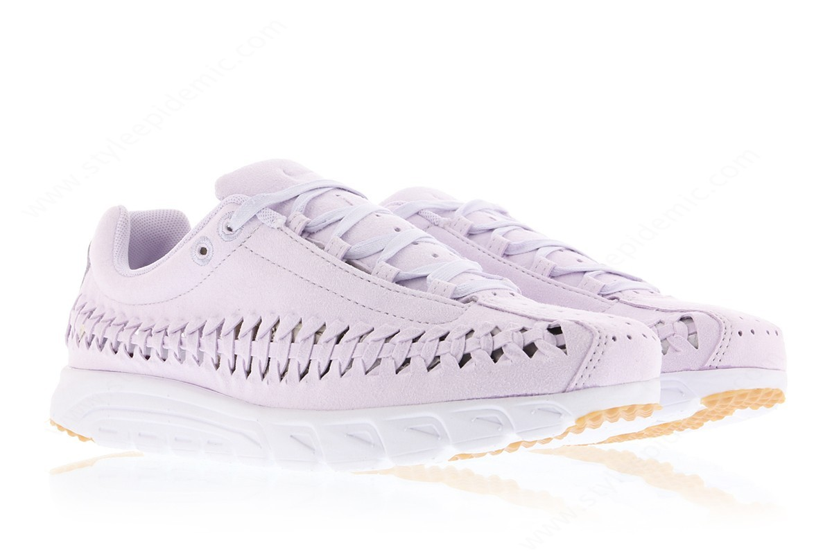 Lady Nike Wmns Mayfly Woven Qs Barely Grape/barely Grape-White - -2