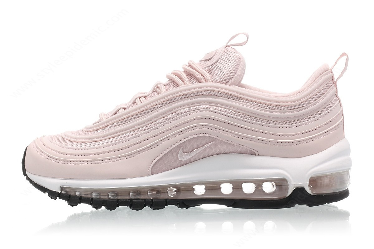 Lady Nike Wmns Air Max Barely Rose/barely Rose-Black - -0