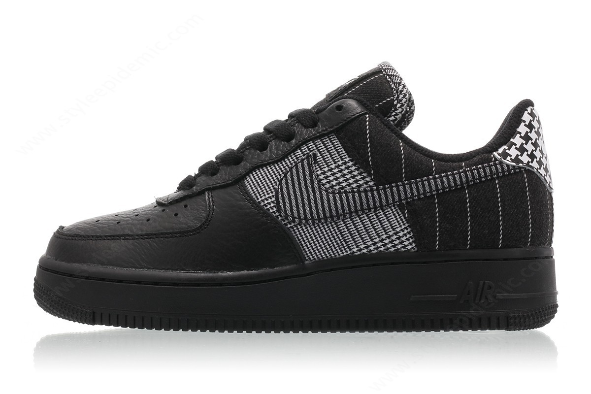 Women Nike Wmns Air Force Lo Black/black-White - -0