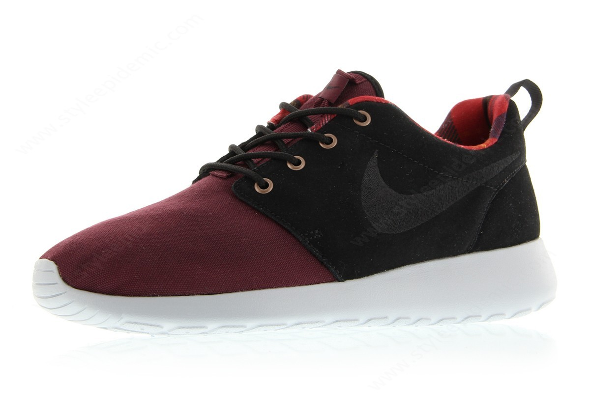 Man Nike Roshe One Premium Night Maroon/black-Wolf Grey - -3