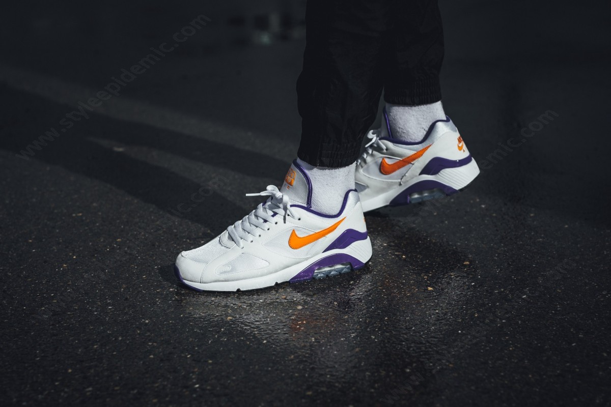 Man Nike Air Max White/bright Ceramic-Dark Concord - -4