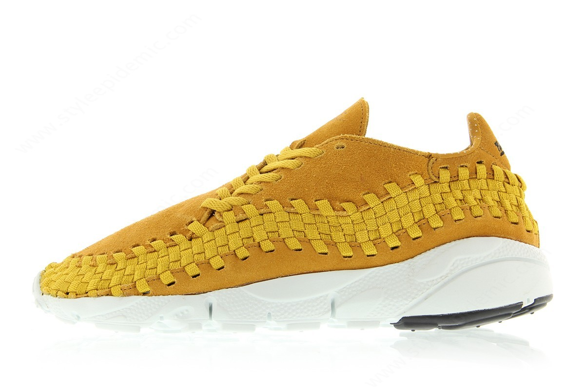 Mens Nike Air Footscape Woven Nm Desert Ochre/desert Ochre-Gold Dart - -0