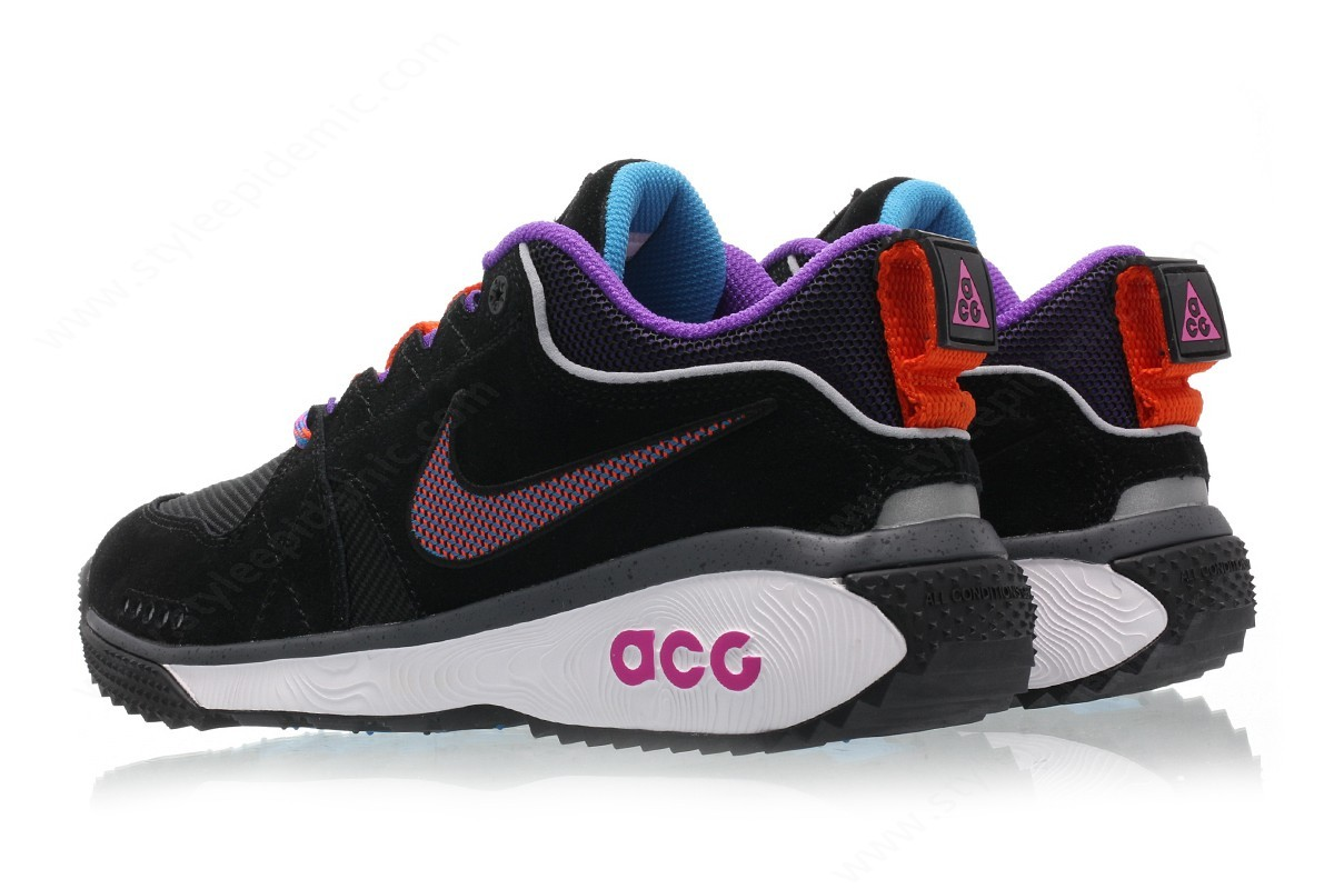 Men Nike Acg Dog Mountain Black/equator Blue-Dark Grey-Hyper Grape - -1