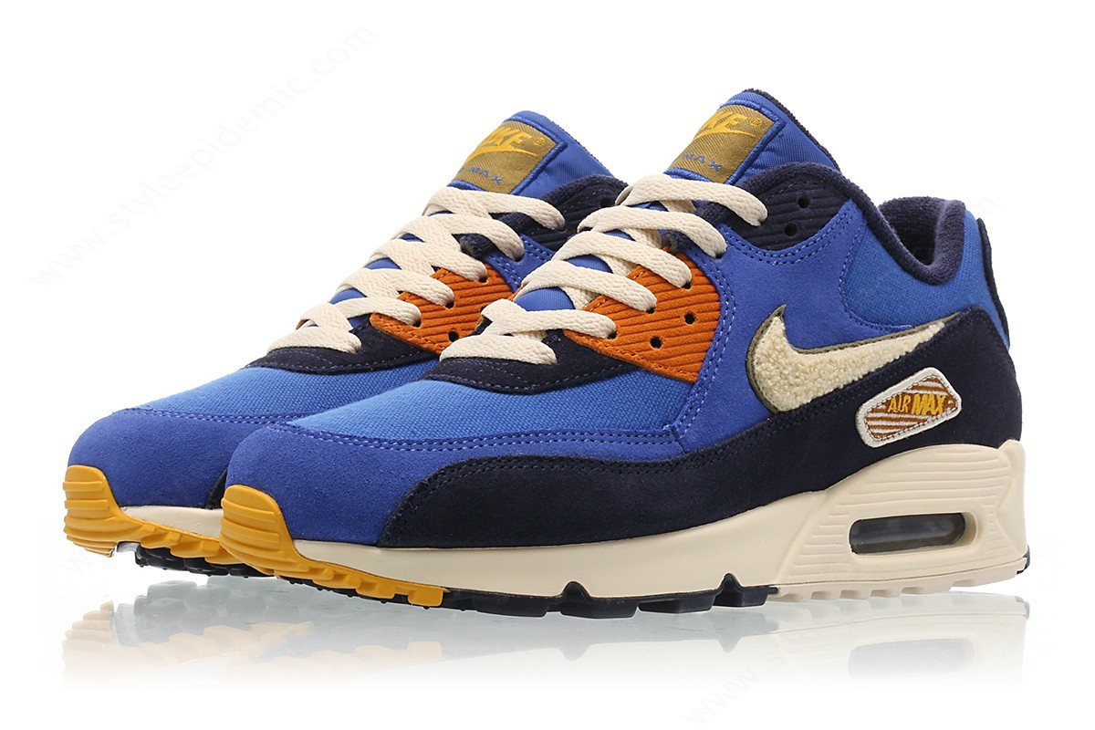 Mens Nike Air Max Premium Se Game Royal/light Cream-Camper Green - -3