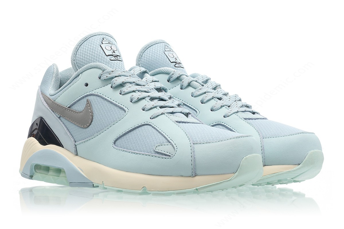 Man Nike Air Max Ocean Bliss/metallic Silver-Igloo - -2