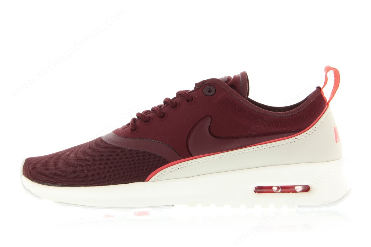 Lady Nike Wmns Air Max Thea Ultra Night Maroon/night Maroon-Ember Glow - -0