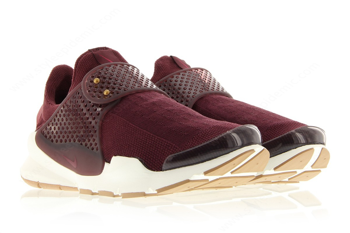 Men Nike Wmns Sock Dart Night Maroon/noble Red-Noble Red-Sail - -2