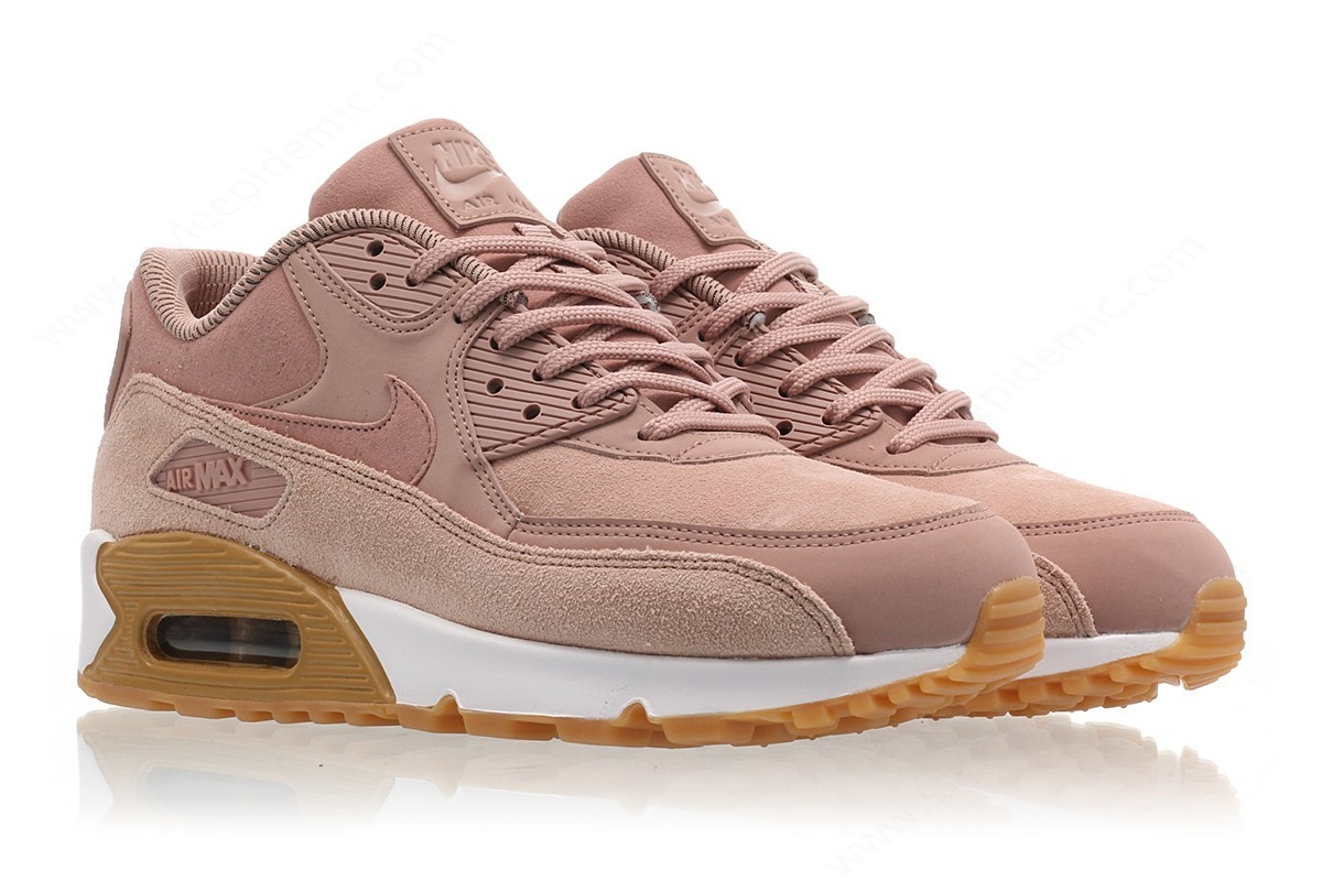 Womens Nike Wmns Air Max Se Particle Pink/particle Pink - -2