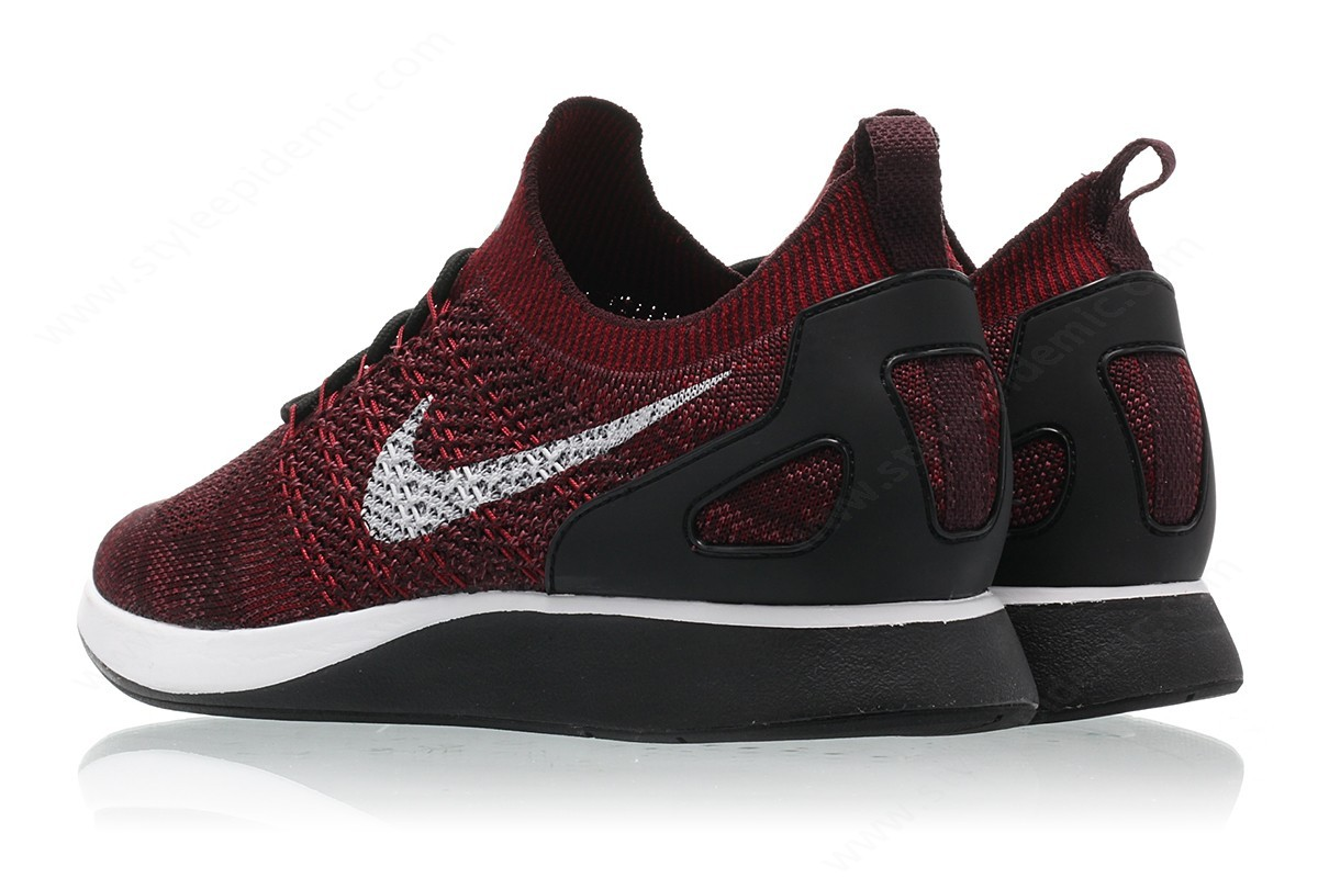 Men Nike Air Zoom Mariah Flyknit Racer Deep Burgundy/pure Platinum-Team Red - -1