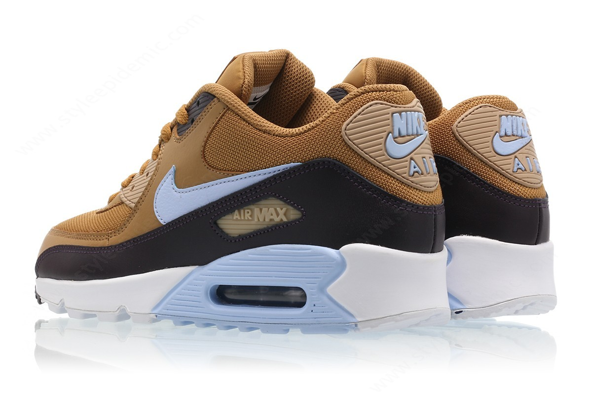 Mens Nike Air Max Essential Muted Bronze/royal Tint-Burgundy Ash - -1
