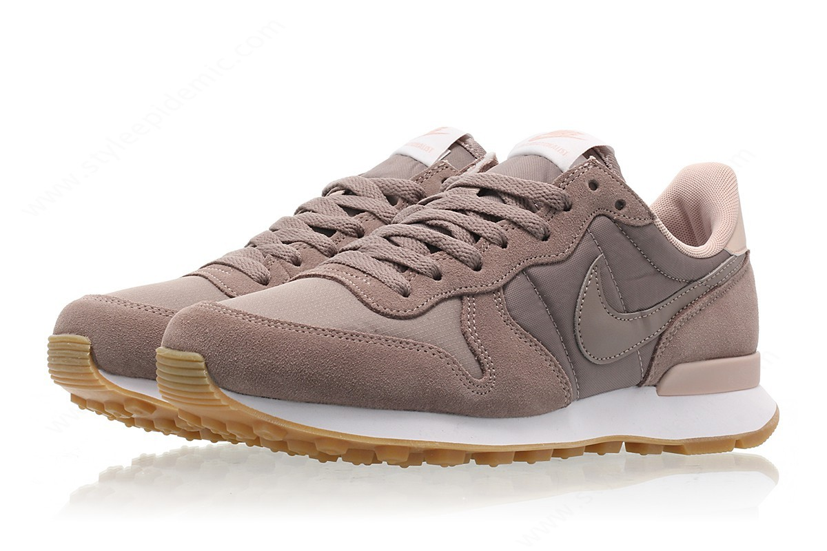 Women Nike Wmns Internationalist Sepia Stone/sepia Stone-Particle Beige - -3