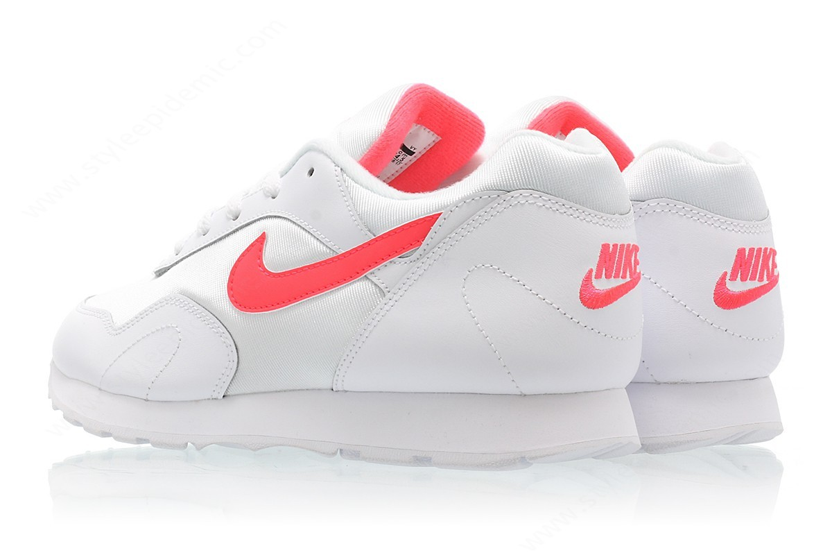 Lady Nike Wmns Outburst White/solar Red-White - -4