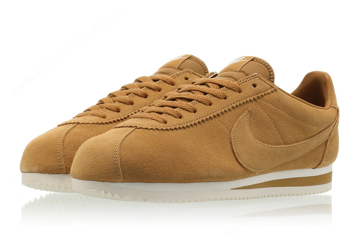 Men Nike Classic Cortez Se Wheat/wheat-Sail - -3