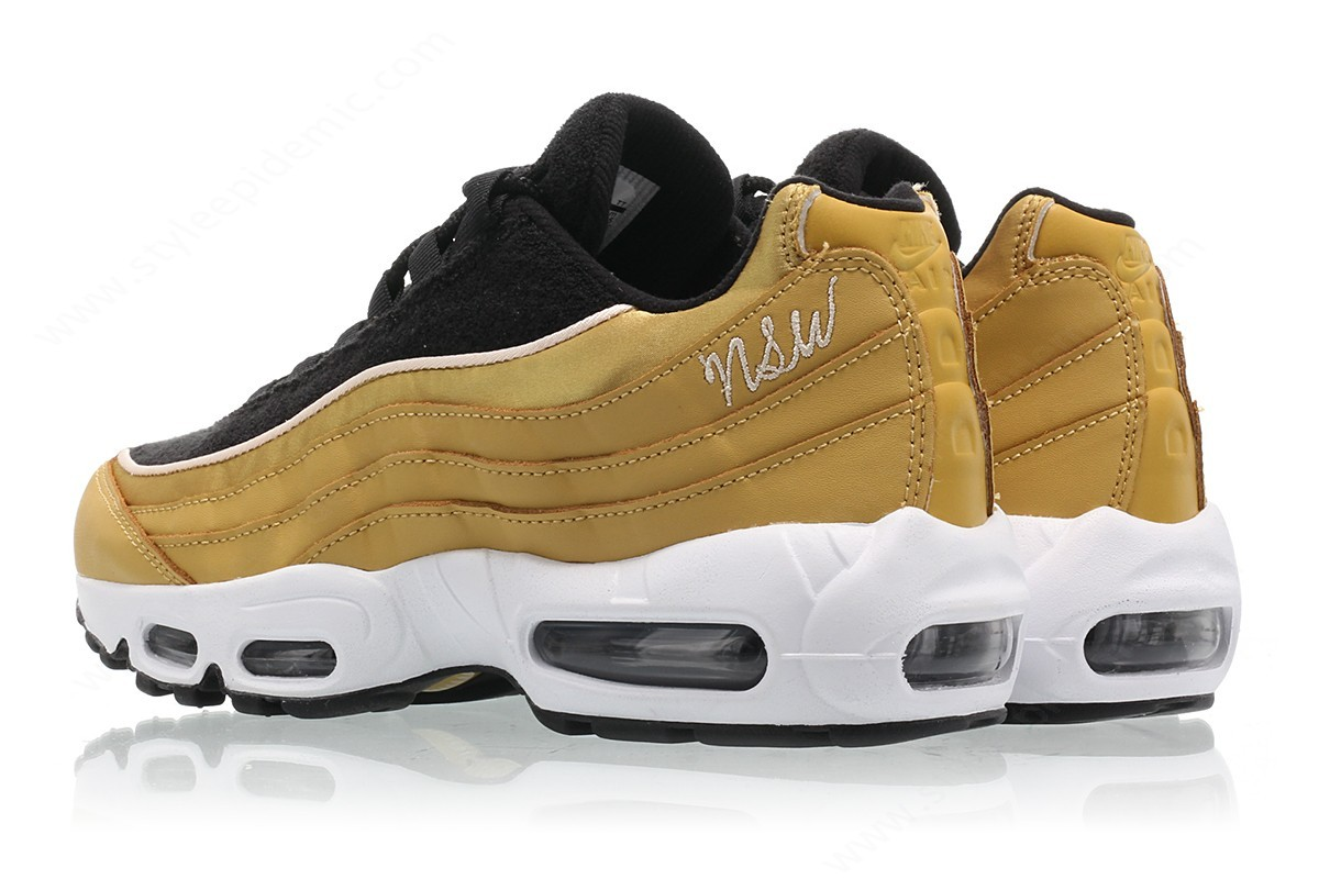 Womens Nike Wmns Air Max Lx Wheat Gold/wheat Gold-Black-Guava Ice - -1