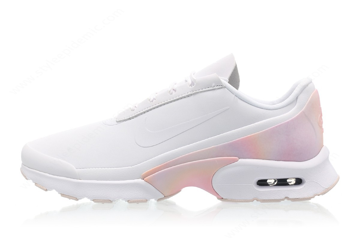 Woman Nike Wmns Air Max Jewell Premium White/white-Barely Rose - -0