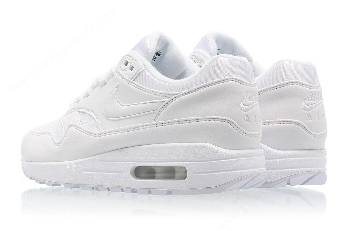 Woman Nike Wmns Air Max White/white-Pure Platinum - -1