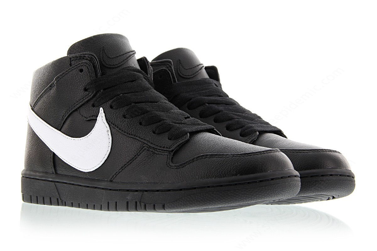 Man Nike Dunk Lux Chukka / Rt Black/white - -1