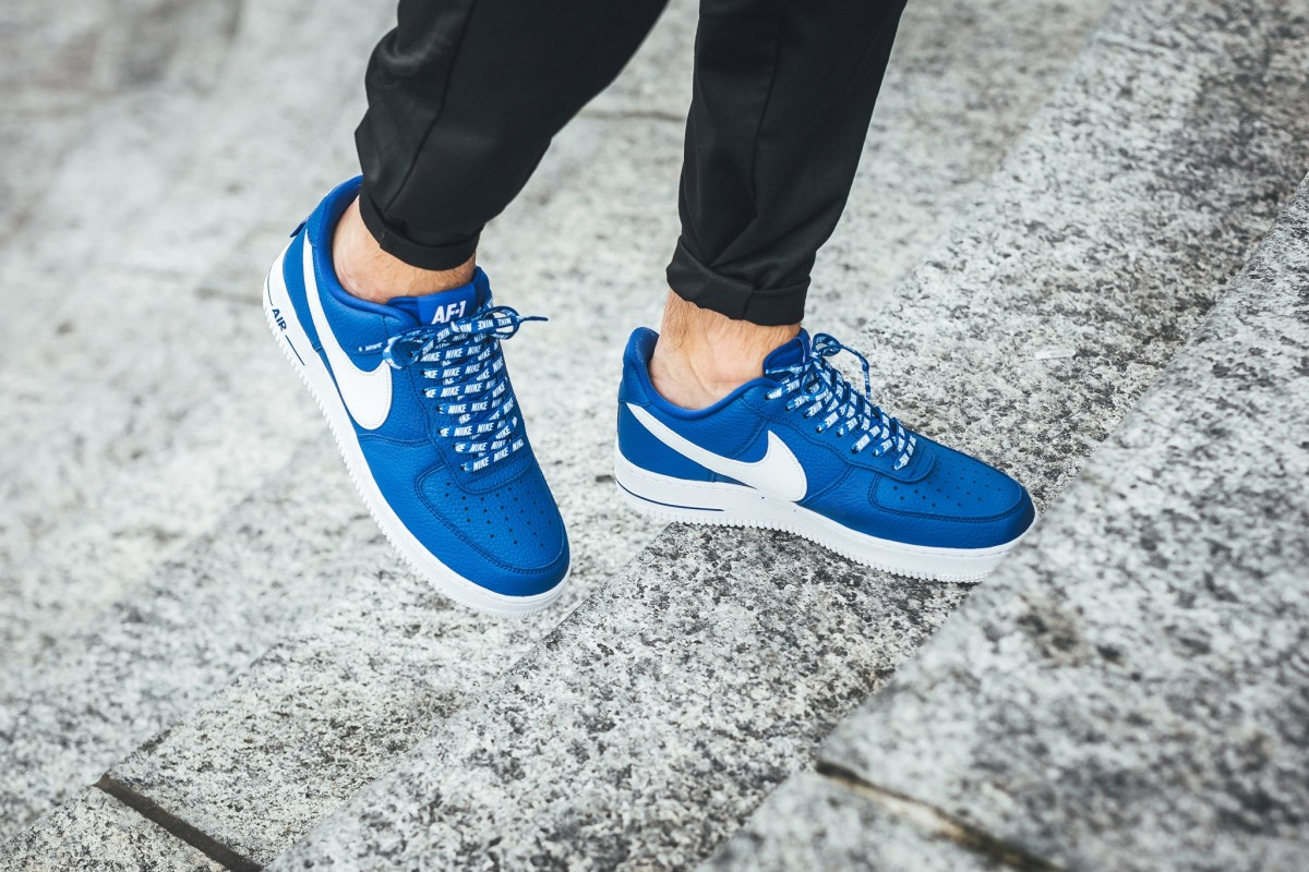 Man Nike Air Force ' Lv8 Game Royal/white - -4