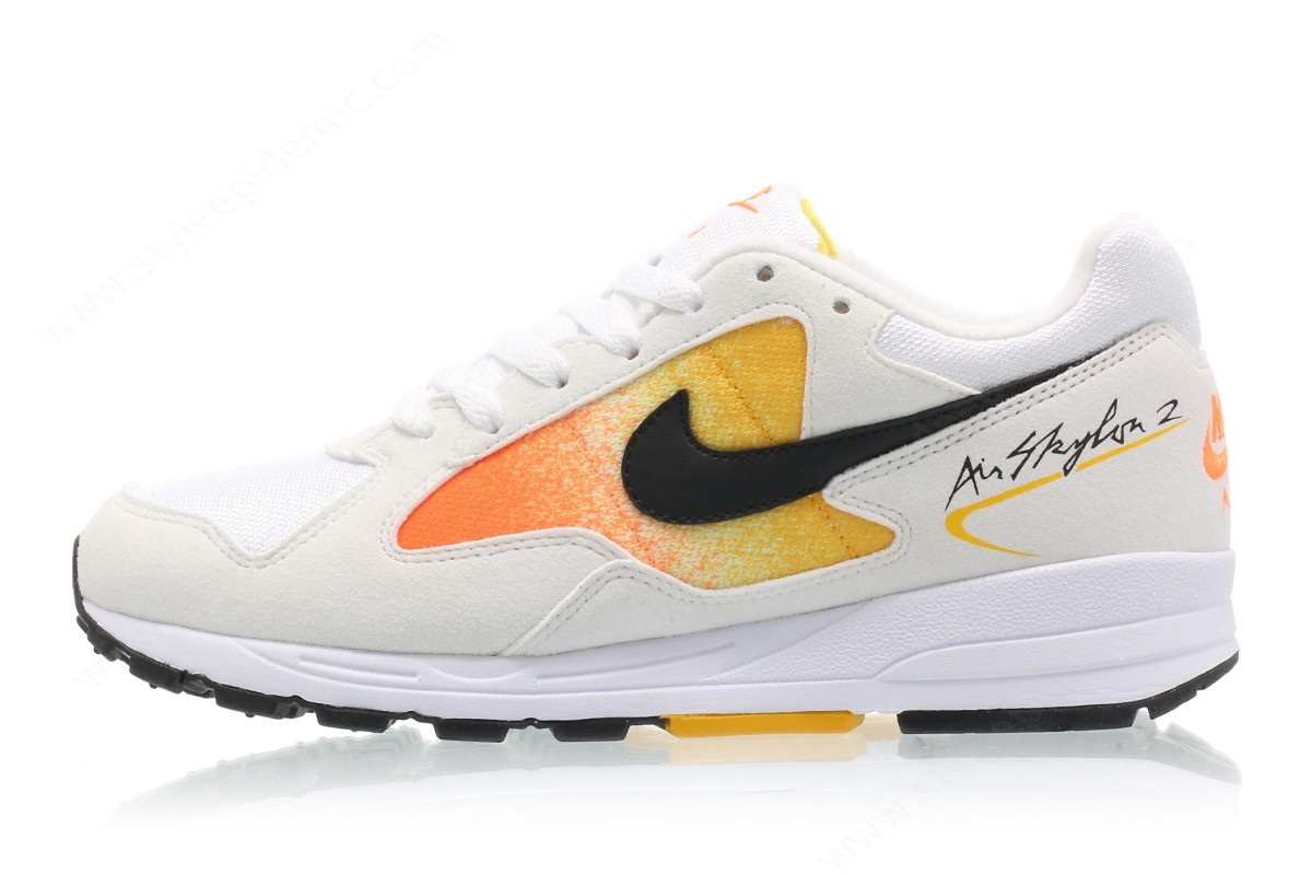 Lady Nike Wmns Air Skylon Ii White/black-Amarillo-Total Orange - Lady Nike Wmns Air Skylon Ii White/black-Amarillo-Total Orange