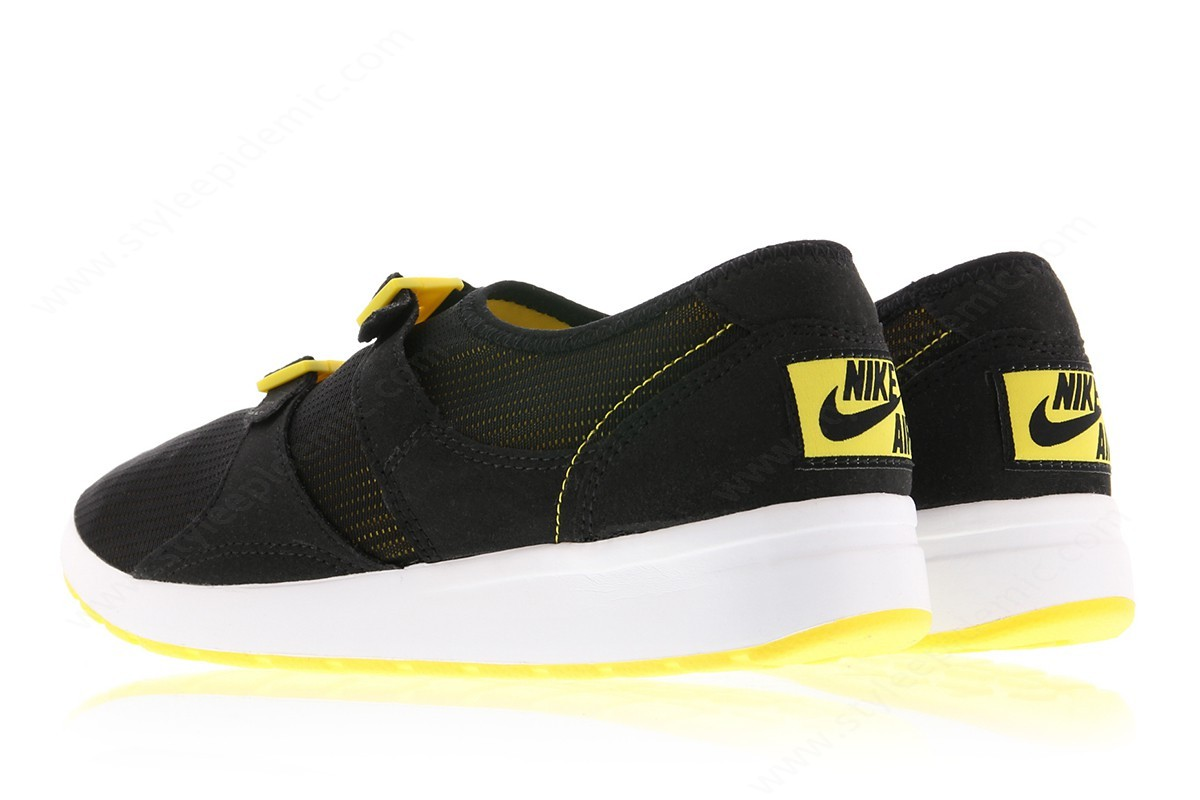 Man Nike Air Sock Racer Og Black/black-Tour Yellow-White - Man Nike Air Sock Racer Og Black/black-Tour Yellow-White