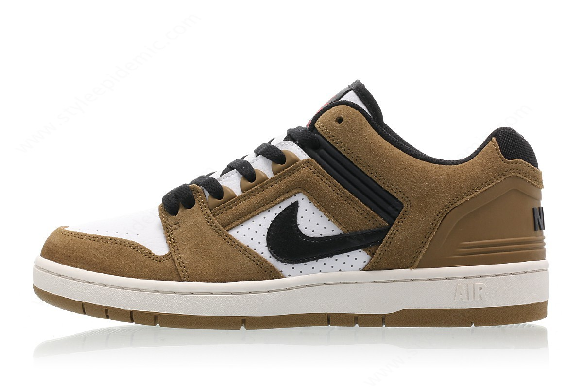 Man Nike Sb Air Force Ii Low Lichen Brown/black-White-Phantom - Man Nike Sb Air Force Ii Low Lichen Brown/black-White-Phantom