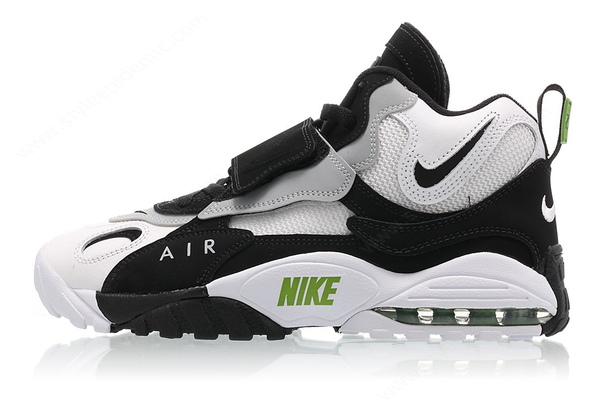 Mens Nike Air Max Speed Turf White/black-Wolf Grey-Chlorophyll - Mens Nike Air Max Speed Turf White/black-Wolf Grey-Chlorophyll