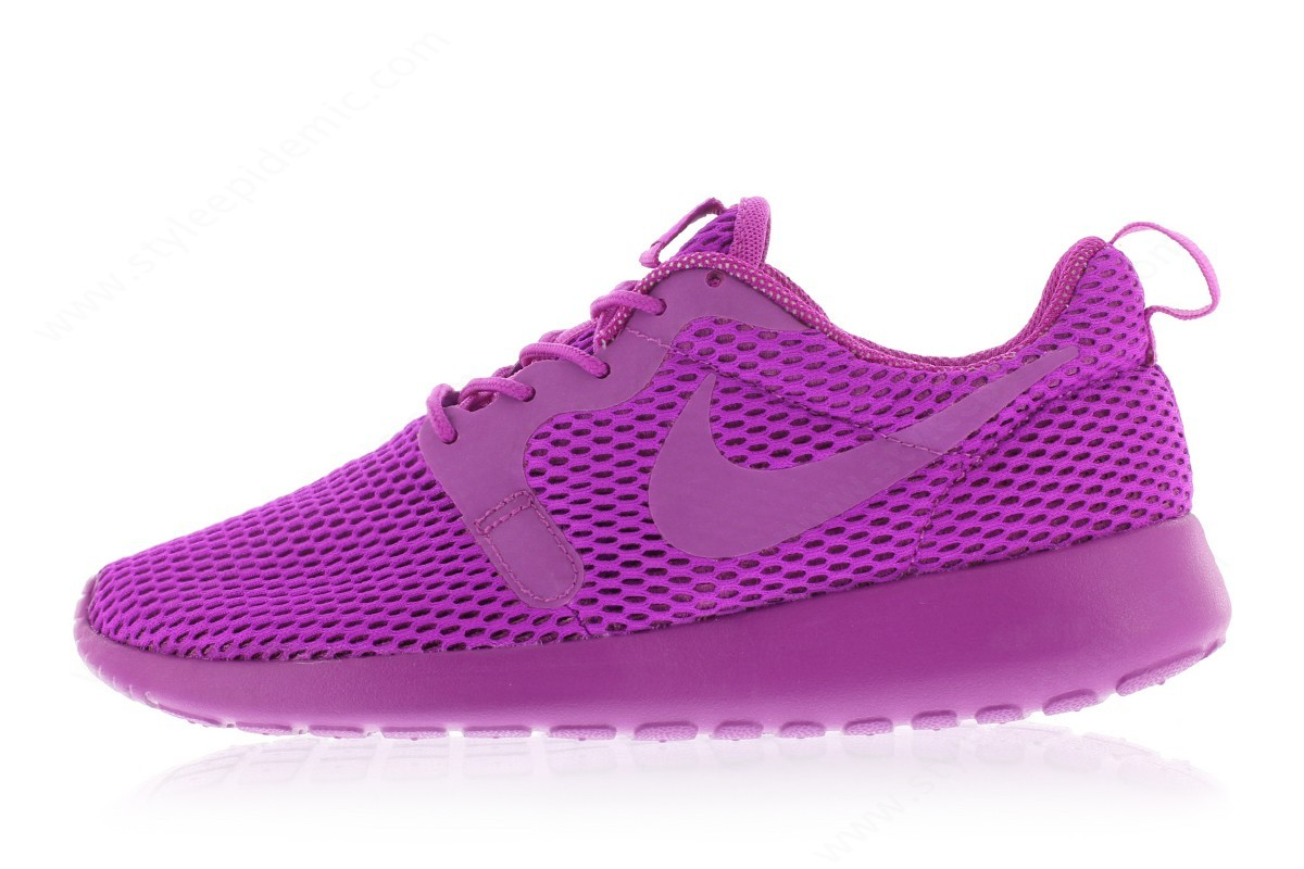 Womens Nike Wmns Roshe One Hyperfuse Breeze Hyper Violet/hyper Violet-Violet - Womens Nike Wmns Roshe One Hyperfuse Breeze Hyper Violet/hyper Violet-Violet