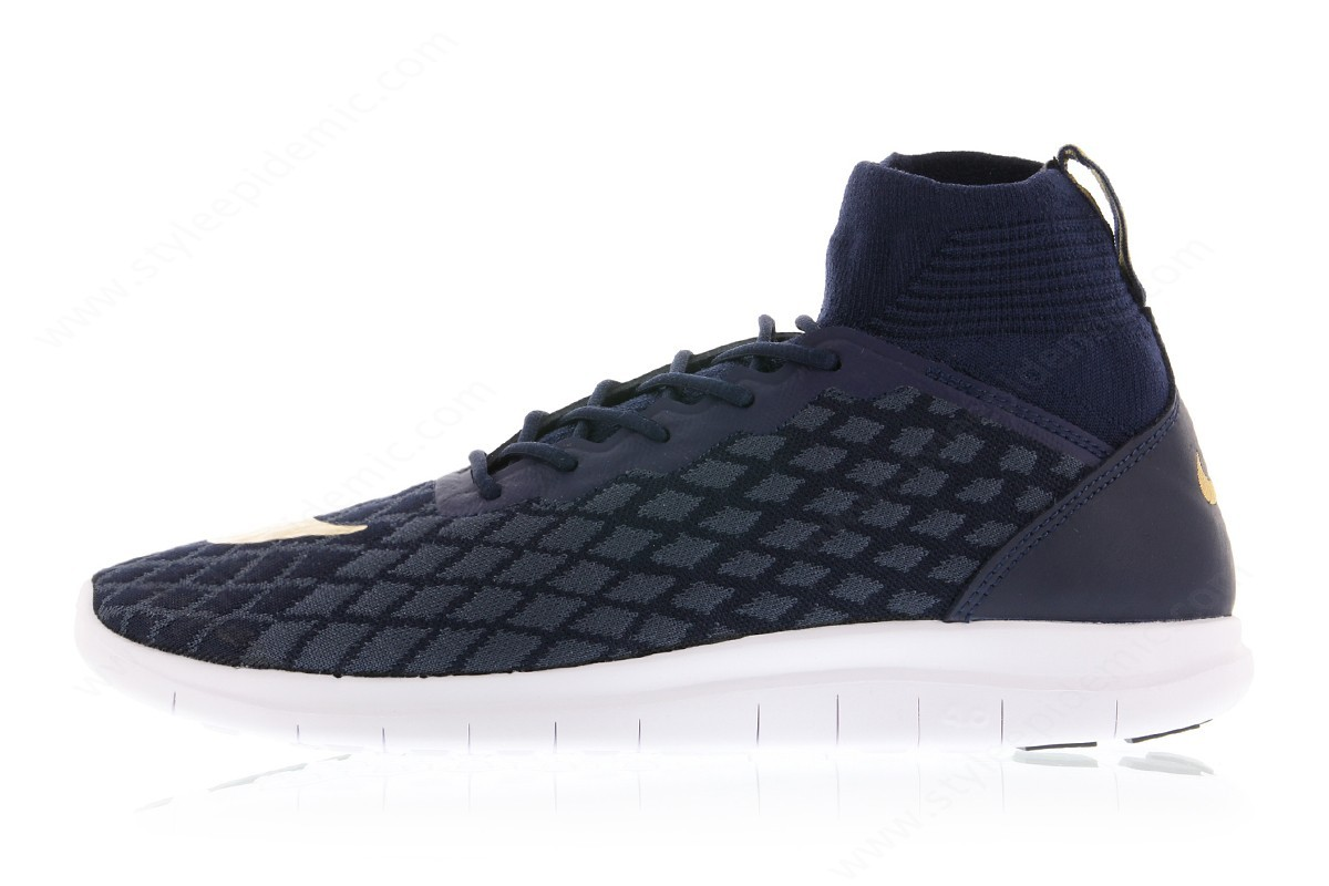 Man Nike Free Hypervenom Fc Flyknit College Navy/metallic Gold-Blue Fox - Man Nike Free Hypervenom Fc Flyknit College Navy/metallic Gold-Blue Fox