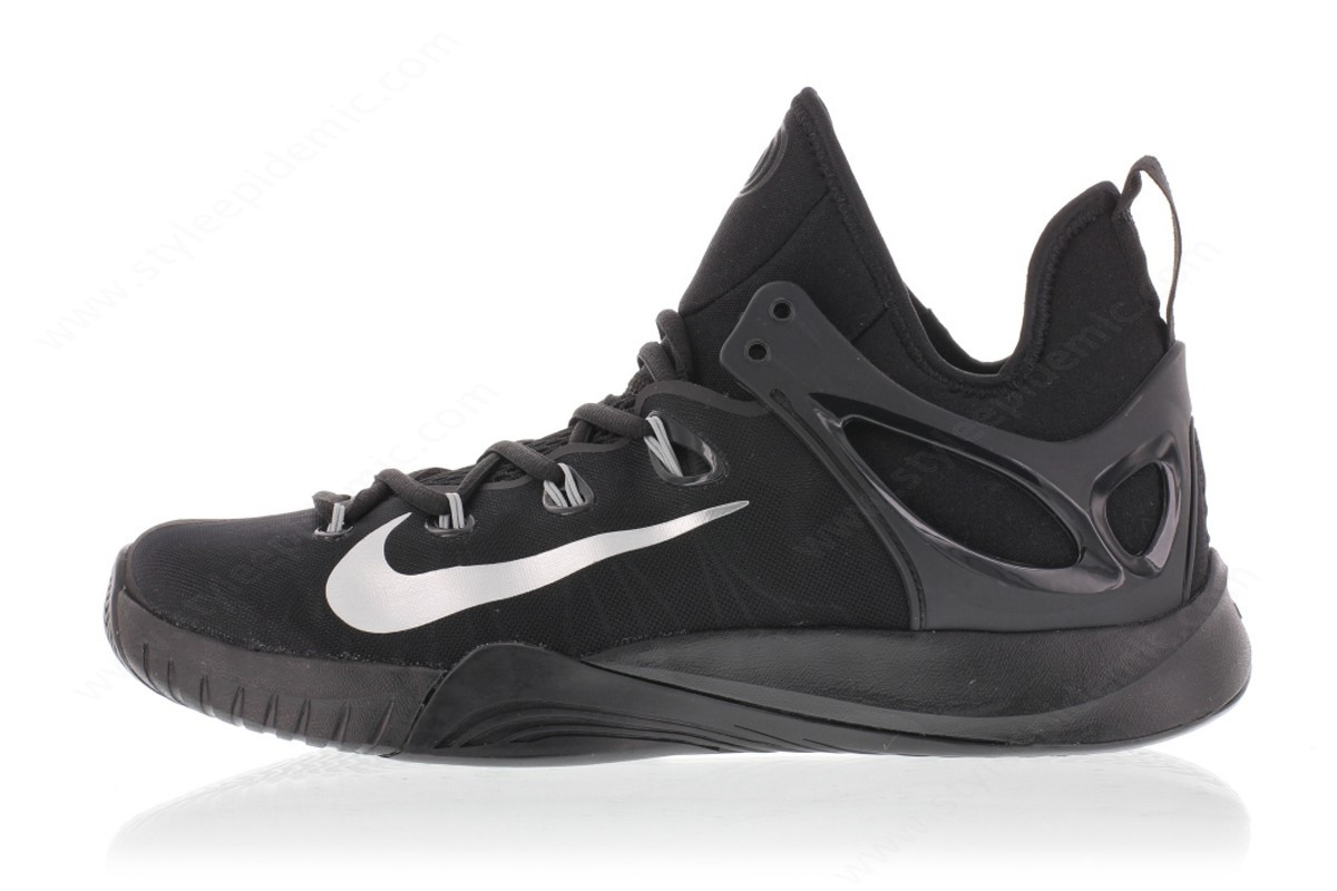 Man Nike Zoom Hyperrev Black/metallic Silver - Man Nike Zoom Hyperrev Black/metallic Silver
