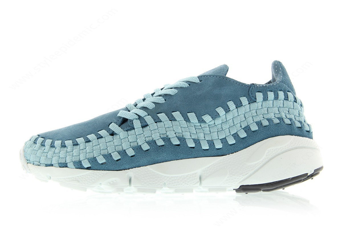 Mens Nike Air Footscape Woven Nm Smokey Blue/smokey Blue-Mica Blue - Mens Nike Air Footscape Woven Nm Smokey Blue/smokey Blue-Mica Blue