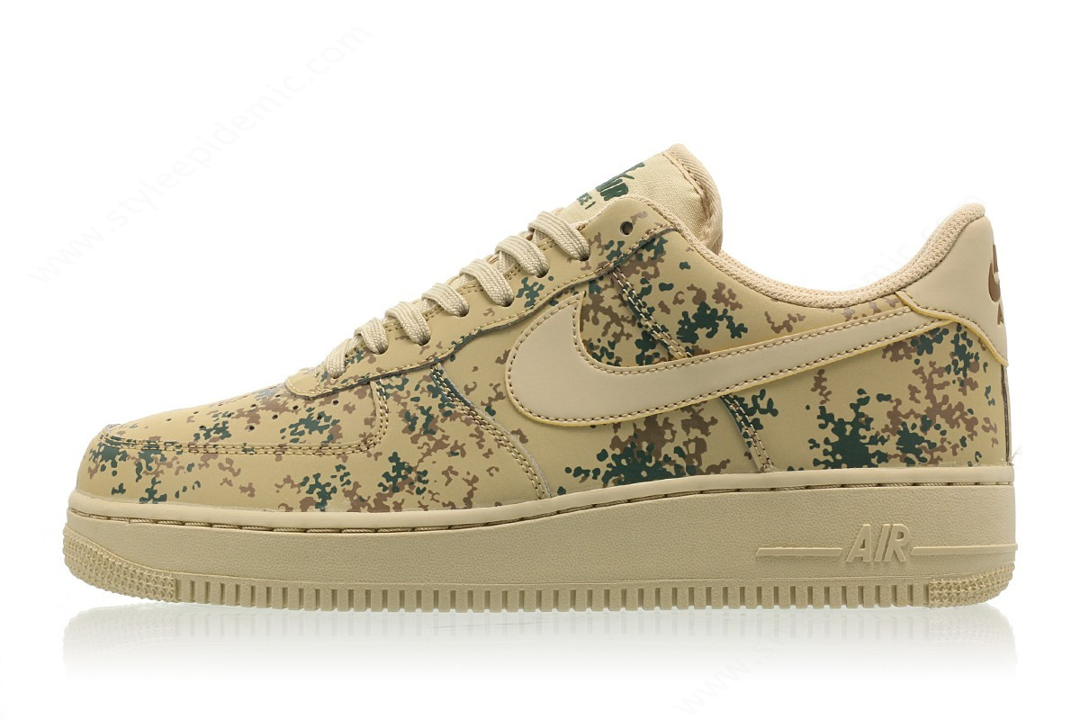 Mens Nike Air Force ' Lv8 Team Gold/team Gold-Golden Beige - Mens Nike Air Force ' Lv8 Team Gold/team Gold-Golden Beige