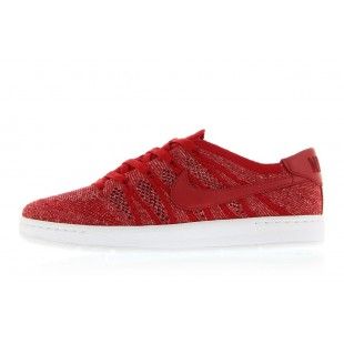 Mens Nike Tennis Classic Ultra Flyknit Gym Red/gym Red/team Red/sail